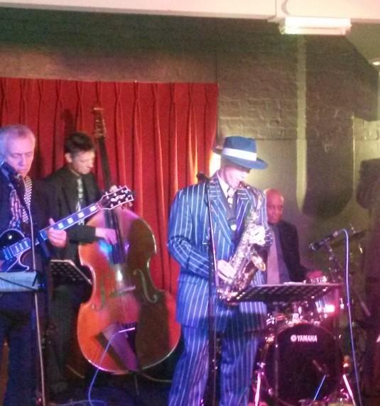 Kit Packham Quartet at George IV, 22nd March