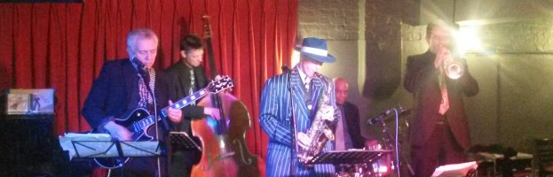 Kit Packham Quartet at George IV, 22nd March